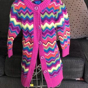 Sweater cardigan size 4